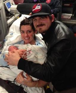 Meredith Andrews and her husband Jacob Sooter welcomed their second son, Remington Ezra, into the world on Sunday, February 17th, 2013 outside of Chicago, IL
